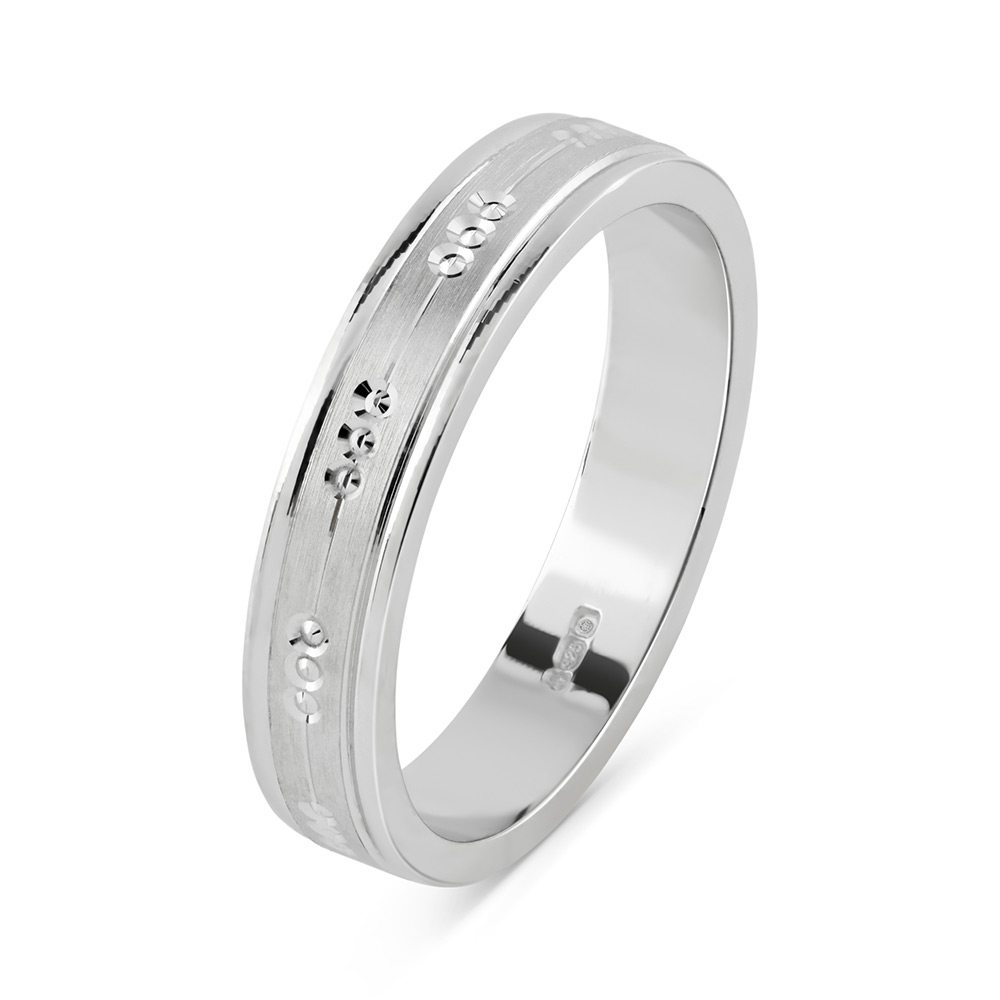 s with flat and comfort rings platinum fit beveled wedding fbc ring edge men